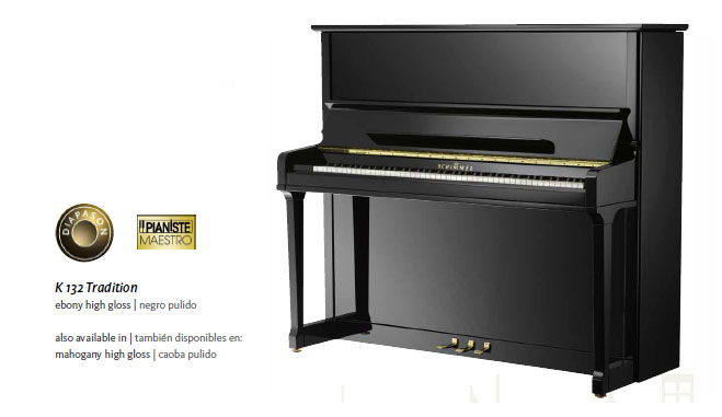 schimmel k132 upright piano details